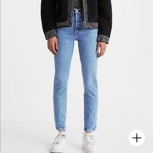 Women's Levi's 501 skinny jeans